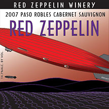 Red Zeppelin Wine